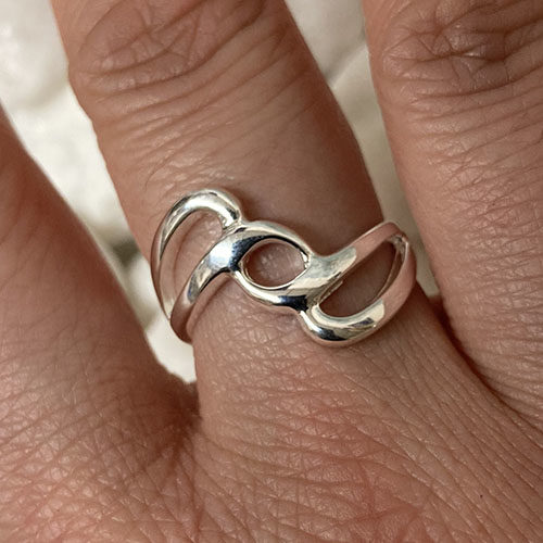 Solid Silver ring