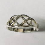 Solid Silver Celtic design ring