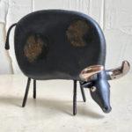 14cm black cow