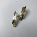 hand made gold earrings