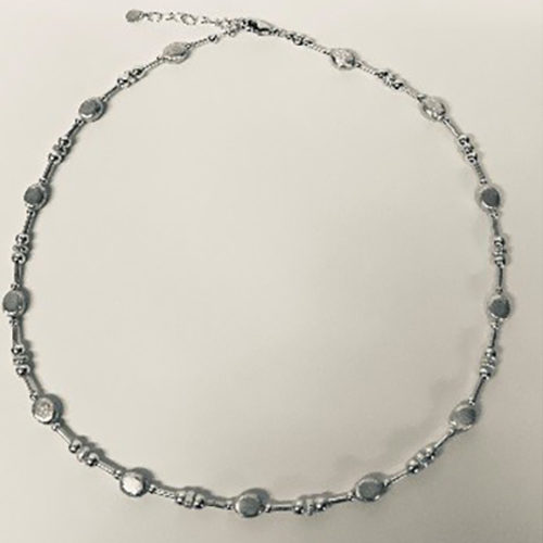 17 inch sterling silver necklace