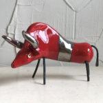Funky 20cm red bull