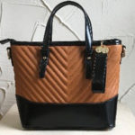 Small tan coloured fashion bag