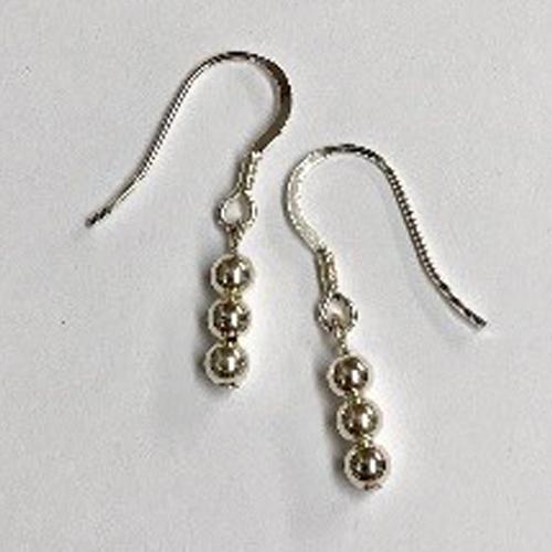 Sterling silver drop earrings 2