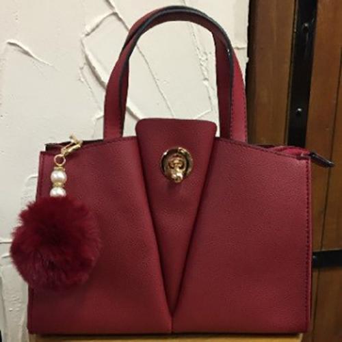 27cm x 21cm red fashion bag
