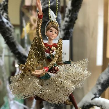 Harlequin tree decoration