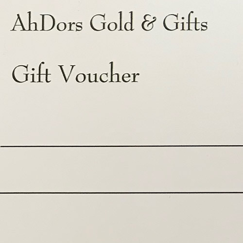 AhDors Gift Vouchers