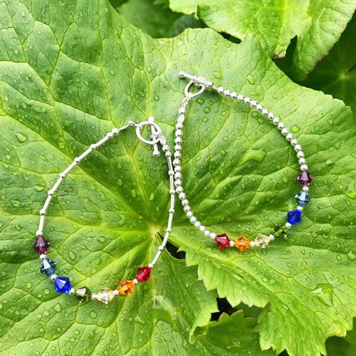 NHS Rainbow Bracelets & Anklets