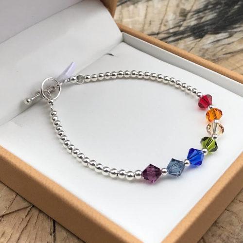 NHS Rainbow Bracelets