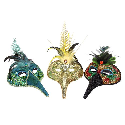 Festive face masks